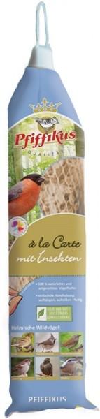 Pfiffikus a la Carte mit Fettfutter & Insekten