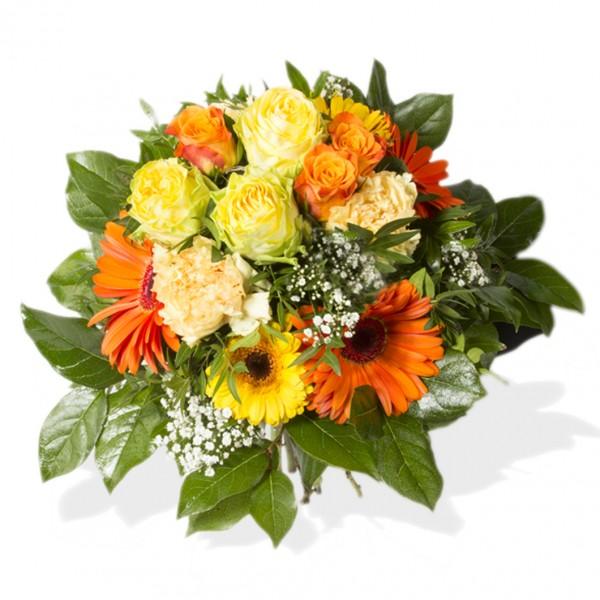 Orangener Blütentraum