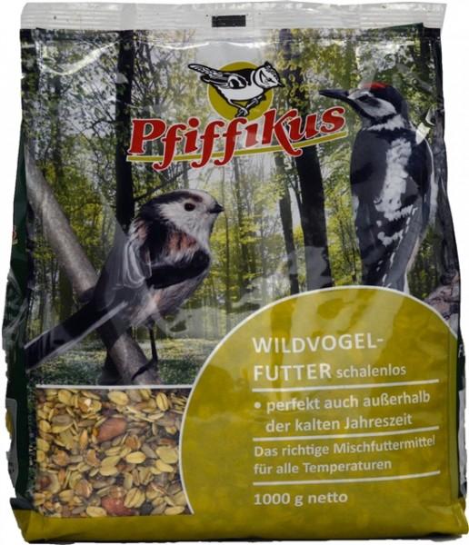 Pfiffikus Wildvogelfutter schalenlos 1kg