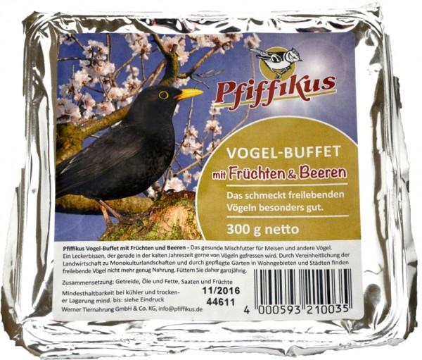 Pfiffikus Vogel-Buffet Früchte-Beeren