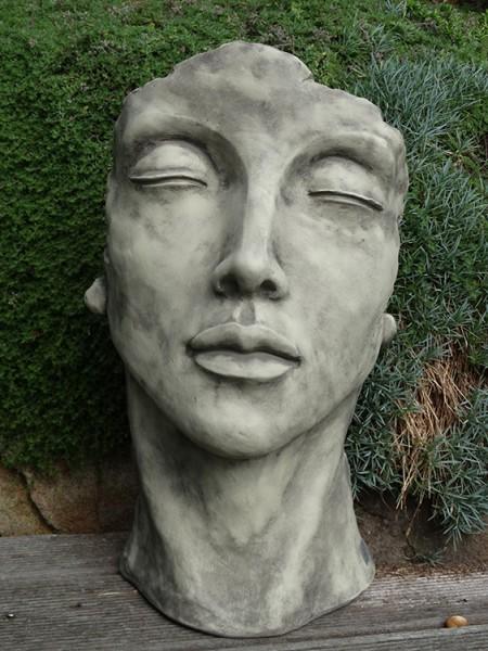 Gesicht Frau Steinguss