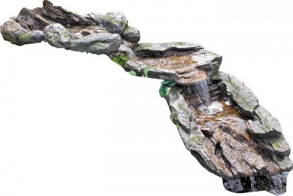 Bachlauf Atlantis 3teilig ohne Pumpe