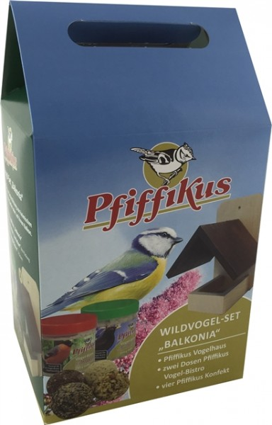 Pfiffikus Wildvogel-Set Balkonia