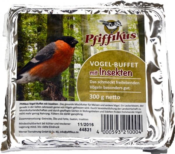 Pfiffikus Vogel-Buffet Insekten