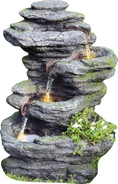 Tao Wasserfall inkl. Pumpe und LED